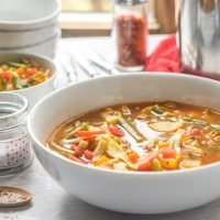 Super Tasty Low Calorie and Low Carb Vegetable Soup
