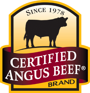 Pic of Certified Angus Beef Brand.