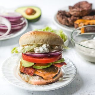 Fat Tuesday Burger with Keto Version too!