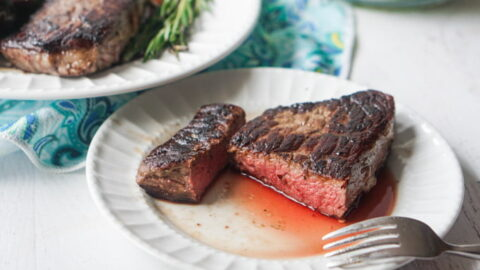 Sous Vide Steaks from an Inexpensive Beef Roast