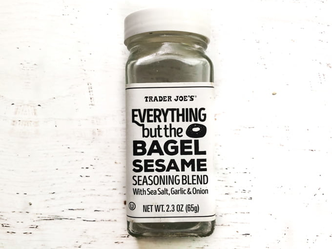 bottle of Trader Joes everything but the bagel spice