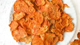 Low Carb Nacho Zucchini Chips Recipe