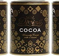 (3 PACK) - Divine Cocoa Powder| 125 g |3 PACK - SUPER SAVER - SAVE MONEY