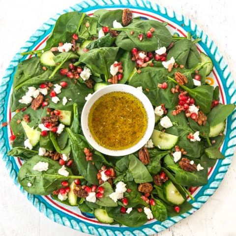 Festive Low Carb Salad for the Holidays