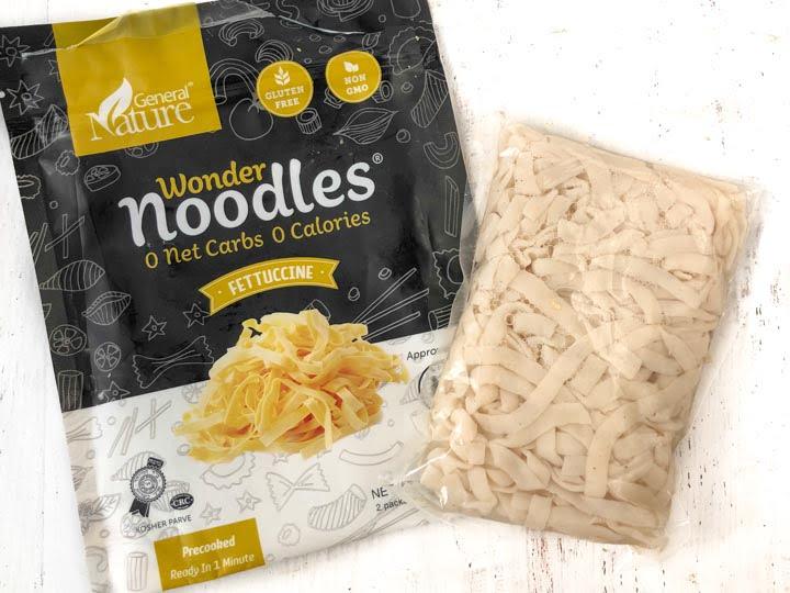 package of wonder noodles