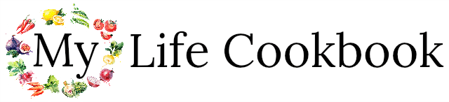 My Life Cookbook - low carb healthy everyday recipes. logo