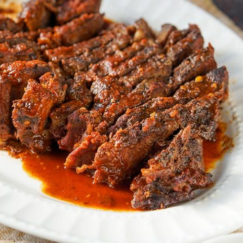 Slow Cooker Beef Roast with Low Carb BBQ Sauce Recipe
