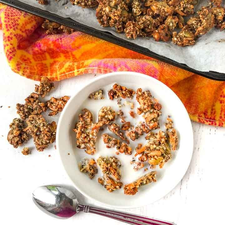 Easy Banana Bread Keto Granola