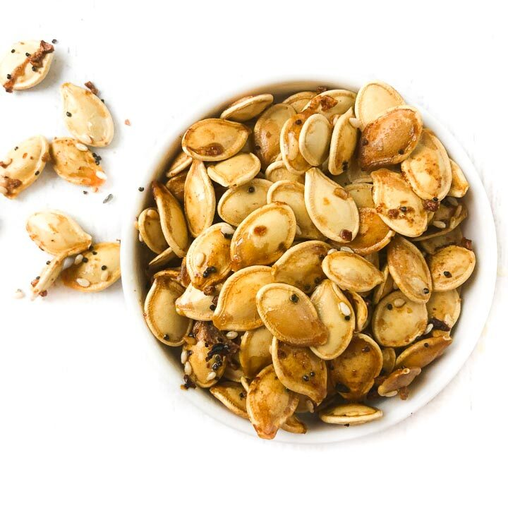 Keto Everything Roasted Pumpkin Seeds