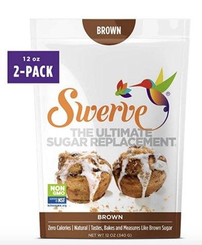 a bag of Swerve brown sugar
