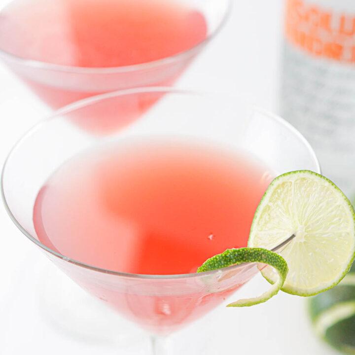 Keto Cosmopolitan Drink Recipe without Triple Sec