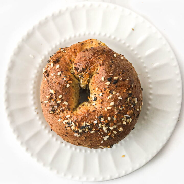 Everything Spice Keto Air Fryer Bagels Recipe